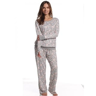 Rene Rofe Women's Comfy Cozy Love Top/Pant Pajama Set