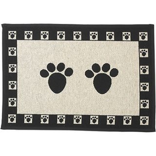 "Petrageous Designs Tapestry Placemat 28""X18""-Scattered Paws"