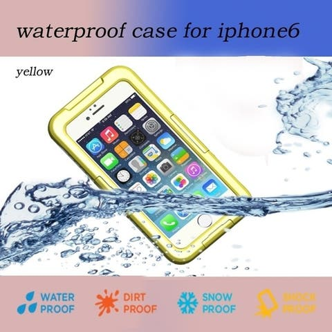Waterproof Phone Case For Iphone 6 Plus 5.5 Inch Anti-Dirt/ Snow Proof /Touched Case For Iphone 6 Plus Multi-Color