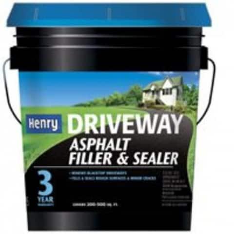 Henry HE175412 Driveway Ashpalt Filler & Sealer, 4.75 Gallon