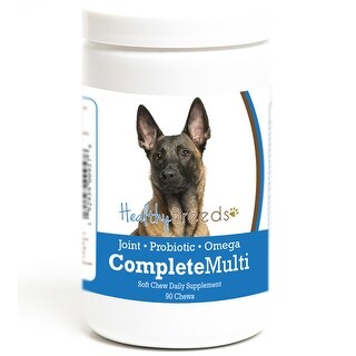 Healthy Breeds Complete Dog Multivitamin for Belgian Malinois