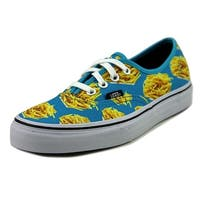 Vans Authentic Women  Round Toe Canvas Blue Skate Shoe