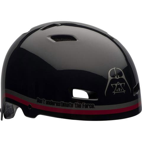 Bell Sports Star Wars Lord Sith Multi-Sport Helmet, Black-Red - Black