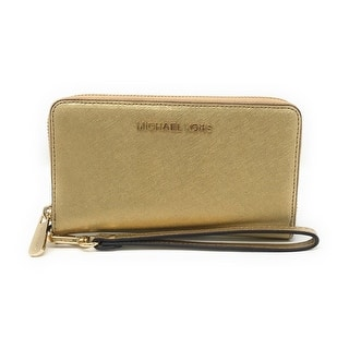 2ee0a3bd876f7 MICHAEL Michael Kors Black Large Flat Phone Wristlet. 5 of 5 Review Stars.  1. Quick View
