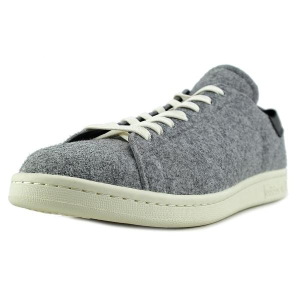 Adidas Stan Smith PC Men Round Toe Canvas Gray Sneakers