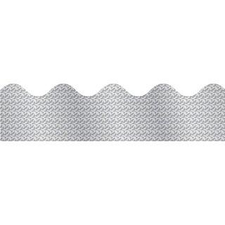 Silver Sparkle Border