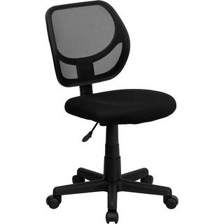Offex Mid-Back Black Mesh Task Chair and Computer Chair [OF-WA-3074-BK-GG]