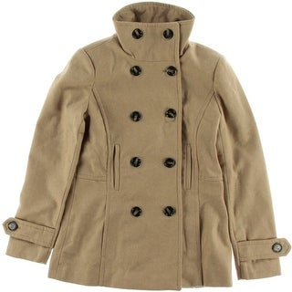 Thread & Supply Womens Wool Double Breasted Pea Coat