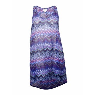 Profile by Gottex Women's Mesh High Low Dress Cover