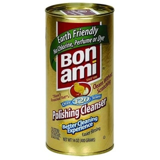 Bon Ami Powder Cleanser Kitchen and Bath - 14 fl oz