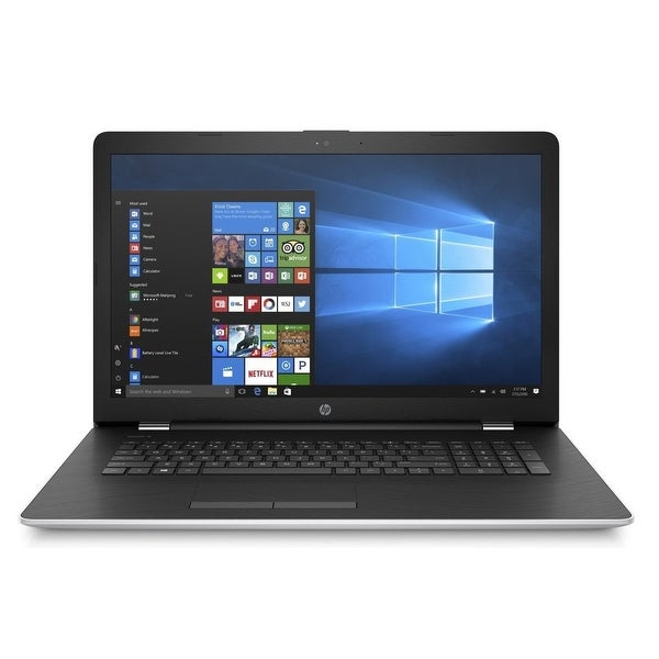 "Refurbished - HP 17-BS005CY 17.3"" Touch Laptop Intel Core i3-7100U 2.4GHz 8GB 2TB Windows 10"