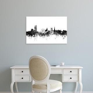Easy Art Prints Michael Tompsett's 'Sheffield England Skyline' Premium Canvas Art