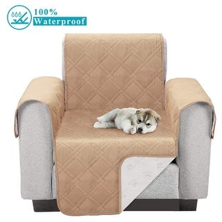 Waterproof Furniture Protector Sofa Cover Plush Furniture Slipcovers Protect from Pets Spills Wear Tear