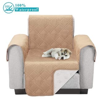 Waterproof Furniture Protector Sofa Cover Plush Slipcovers Protect From Pets Spills Wear Tear
