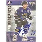 Michael Cammalleri Manchester Monarchs AHL 2005 In The Game Heroes and Prospects Autographed Card This item comes w
