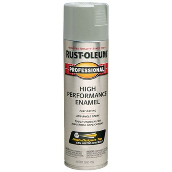 Rust-Oleum 7581-838 Protective Enamel Spray, 15 Oz, Light Machine Gray
