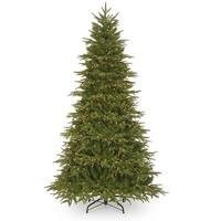 9' Pre-Lit Northern Frasier Fir Artificial Christmas Tree - Clear Lights - green