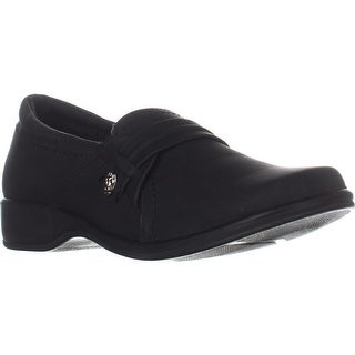 Easy Street Fargo Loafer Flats, Black