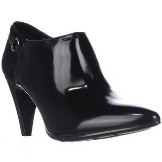 Bandolino Kaeto Ankle Booties - Black/Black