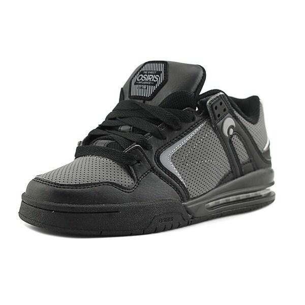 Osiris PXL Men Round Toe Synthetic Black Skate Shoe