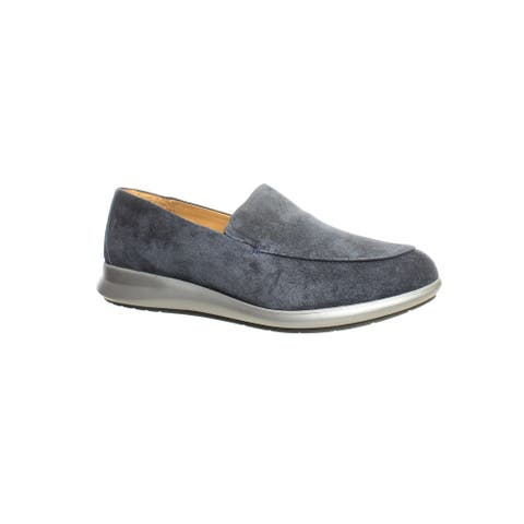 Samuel Hubbard Womens Freedom First Blue Loafers Size 8