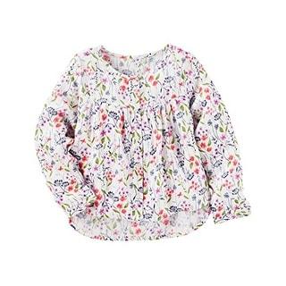 OshKosh B'gosh Little Girls' Floral Top, 4-Kids