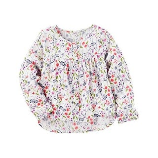 OshKosh B'gosh Little Girls' Floral Top, 4-Kids