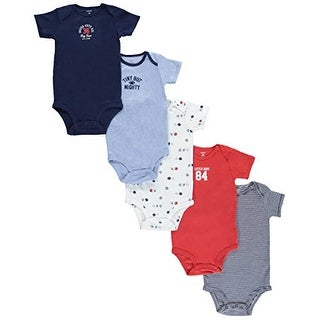 Carter's Baby Boys' 5 Multi-Pack Bodysuits Tiny But Mighty 24 Months