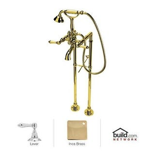 Rohl AKIT1401LM Country Bath Exposed Tub and Shower Package with Single Function