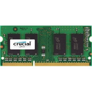 Crucial 8Gb Single Ddr3/Ddr3l 1600 Mt/S (Pc3-12800) Sodimm 1.35V/1.5V 204-Pin Memory For Mac Ct8g3s160bm