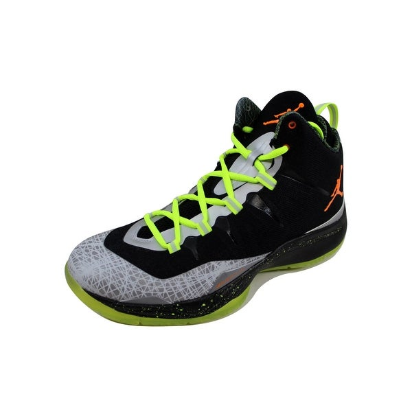Nike Men's Air Jordan Super.Fly 2 Christmas Black/Total Orange-Reflect Silver 640315-025
