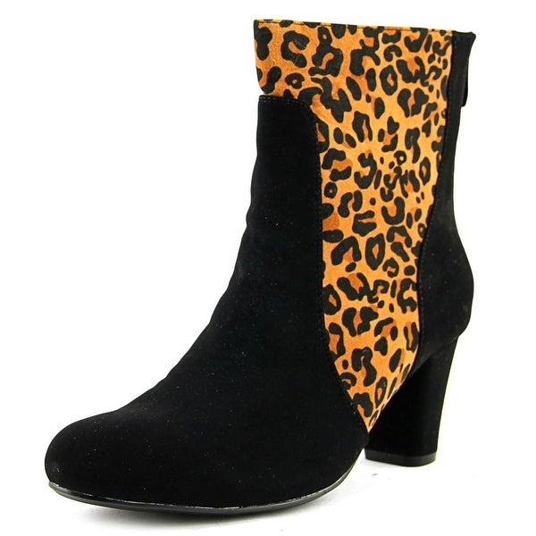 Beacon Trisha Women Leopard/Black Boots