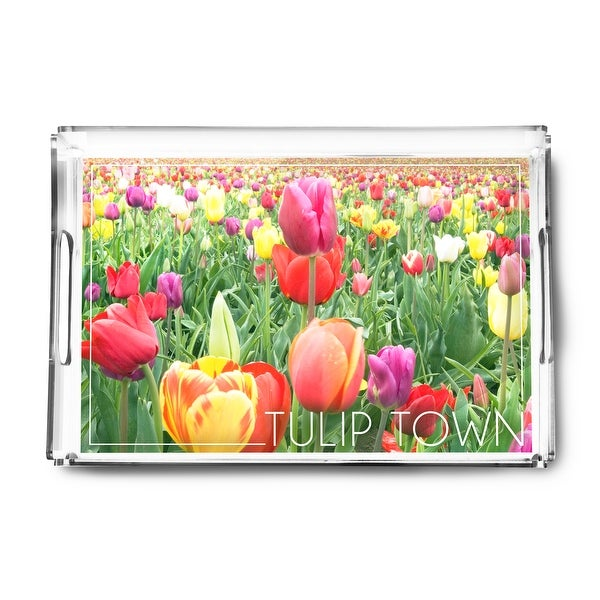 Shop Tulip Town Washington Tulips Lantern Press Photography