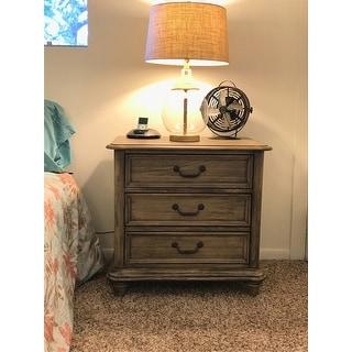 Rustic Grey 2-drawer Nightstand