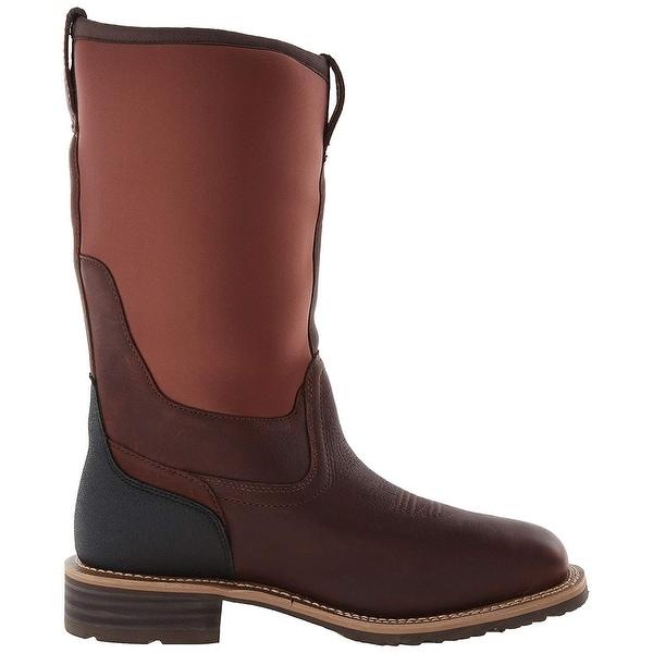 ARIAT Mens Hyrbid All Weather Steel Toe Western Boot