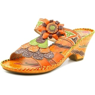 Corkys Elite Navajo Women Open Toe Leather Sandals