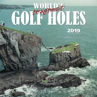 Toughest Golf Holes Wall Calendar, Golf by Wyman Publishing