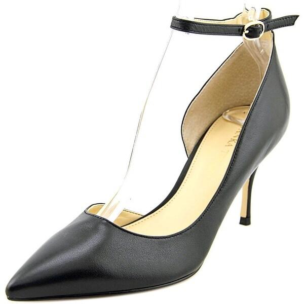 Ivanka Trump Brita Pointed Toe Leather Heels