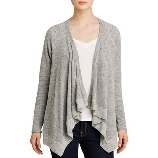 Splendid Womens Cardigan Sweater Marled Knit