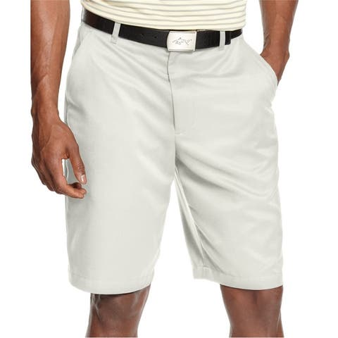 Greg Norman Mens Microfiber Casual Chino Shorts