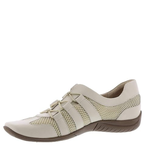 Walking Cradles Womens Audio Leather Low Top Fashion Sneakers