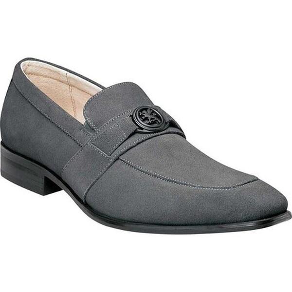 19f4cad0eaf Shop Stacy Adams Men s Mandell Loafer 25107 Gray Suede - Free ...