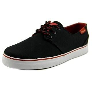 Circa Crip Youth Round Toe Canvas Black Skate Shoe