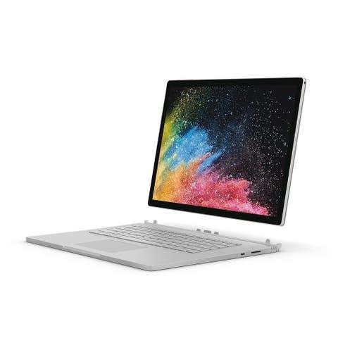 """Microsoft Surface Book JJK-00001 1TB Core i7-8650U X4 1.9GHz 13.5"""",Silver(Certified Refurbished)"""