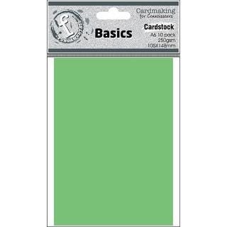 Fundamentals Cardmaking A6 Cards 10/Pkg-Shamrock