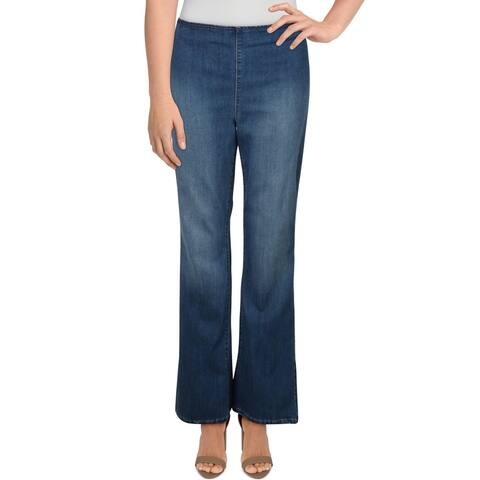 Jessica Simpson Women's High Rise Pull On Contour Flare Jeans