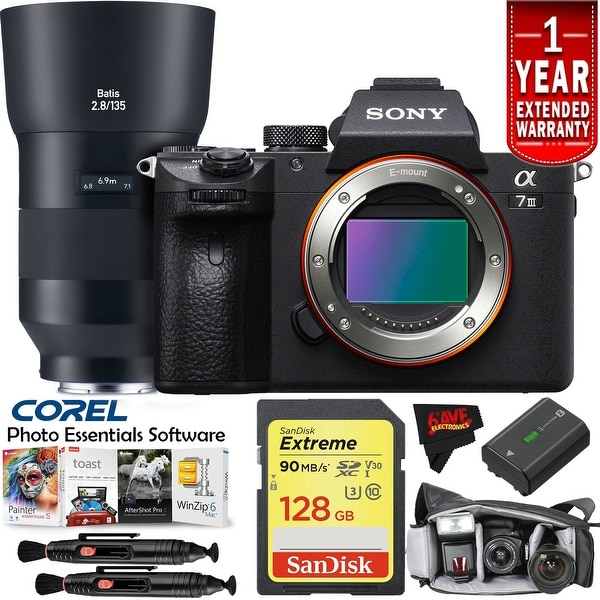 Sony Alpha a7 III (Body Only) Intl Model Master Kit
