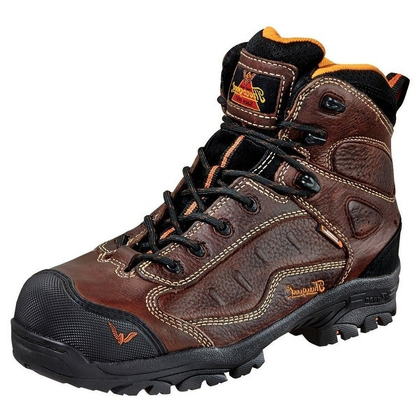 Thorogood Work Boots Men Sport Hiker Waterproof CT Dark Brown 804-4038