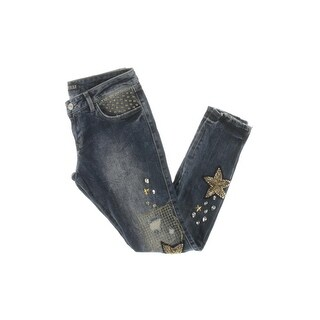 Guess Womens Ankle Jeans Embellished Destroyed (2 options available)