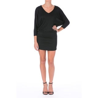 Guess by Marciano Womens Matte Jersey Dolman Sleeves Cocktail Dress - XS